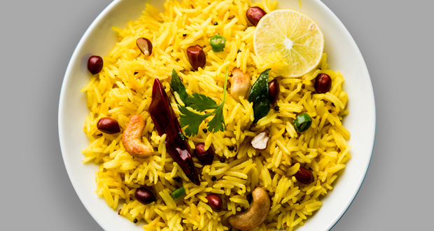 Turmeric Lemon Rice