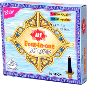 Four-in-one Dhoop