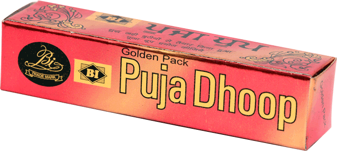 Puja Dhoop - Golden Pack.
