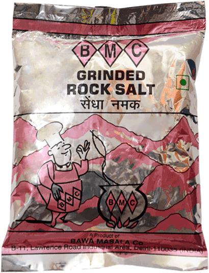 Grinded Rock Salt